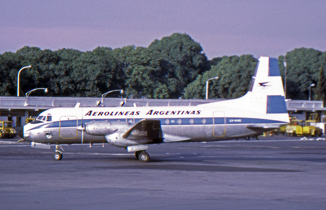 Hawker Siddeley HS.748 Series 1 civil d'Aerolineas Argentinas