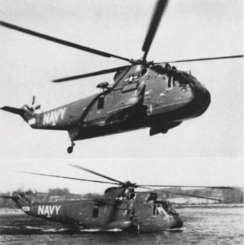 Sikorsky H-3 Sea King - Prototype XHSS-2