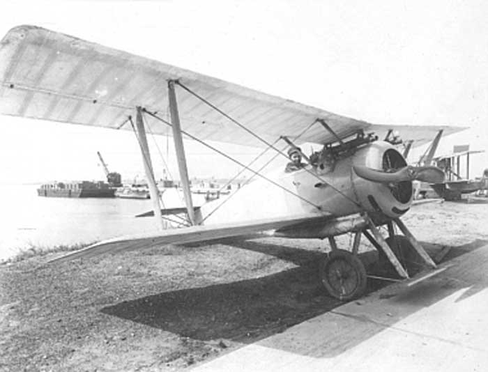 Hanriot HD.2 de l'US Navy