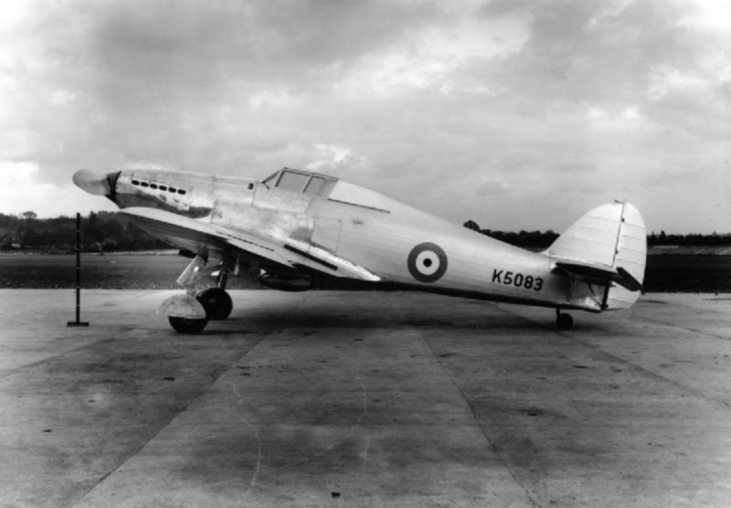 Hawker Hurricane - Prototype