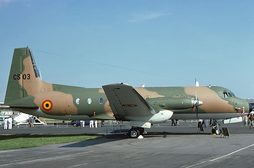 Hawker Siddeley HS.748 Series 2A belge