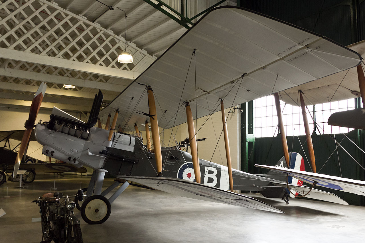 Royal Aircraft Factory RE.8 au RAF Museum de Londres