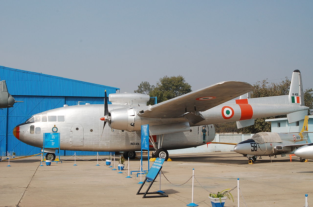 Fairchild C-119G indien