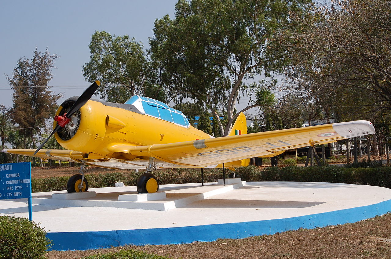 North American T-6G Texan indien