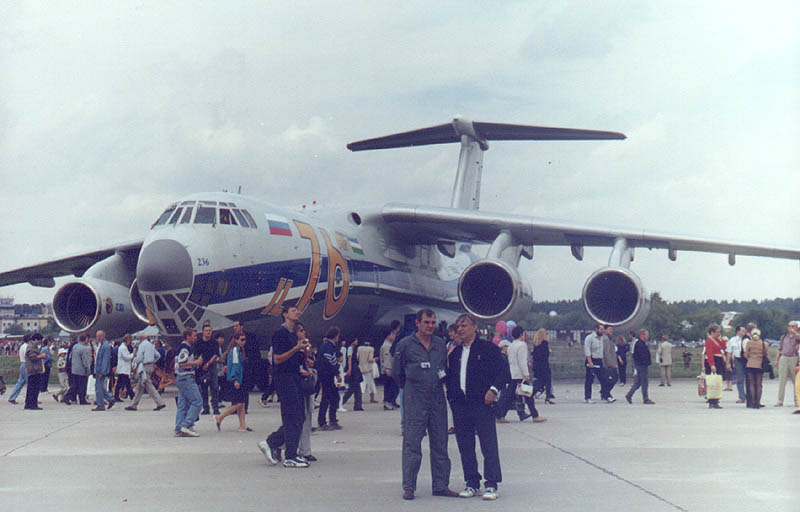 Iliouchine Il-76MF au statique