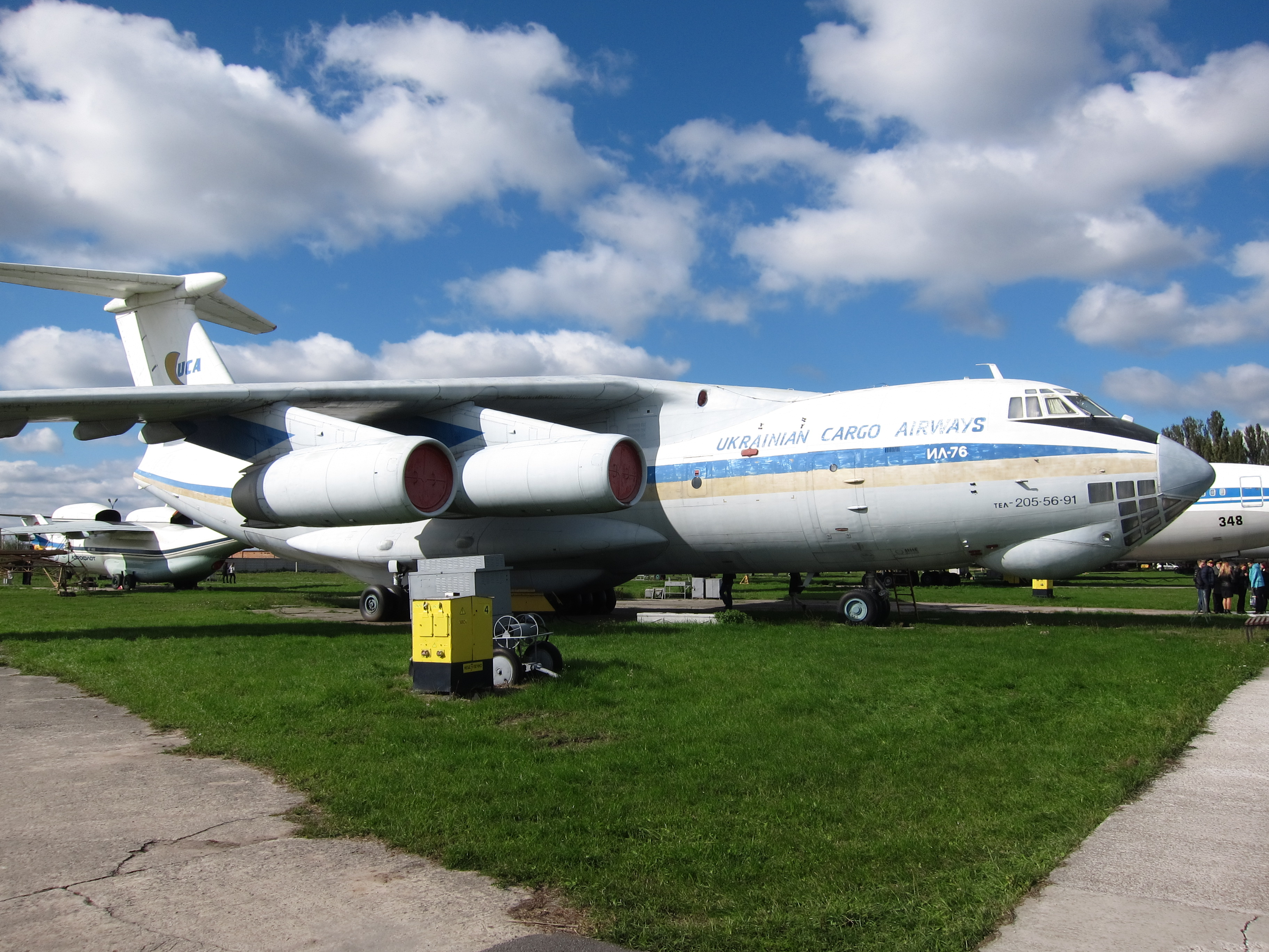 iliouchine Il-76 d'Ukrainian Cargo Airways exposé