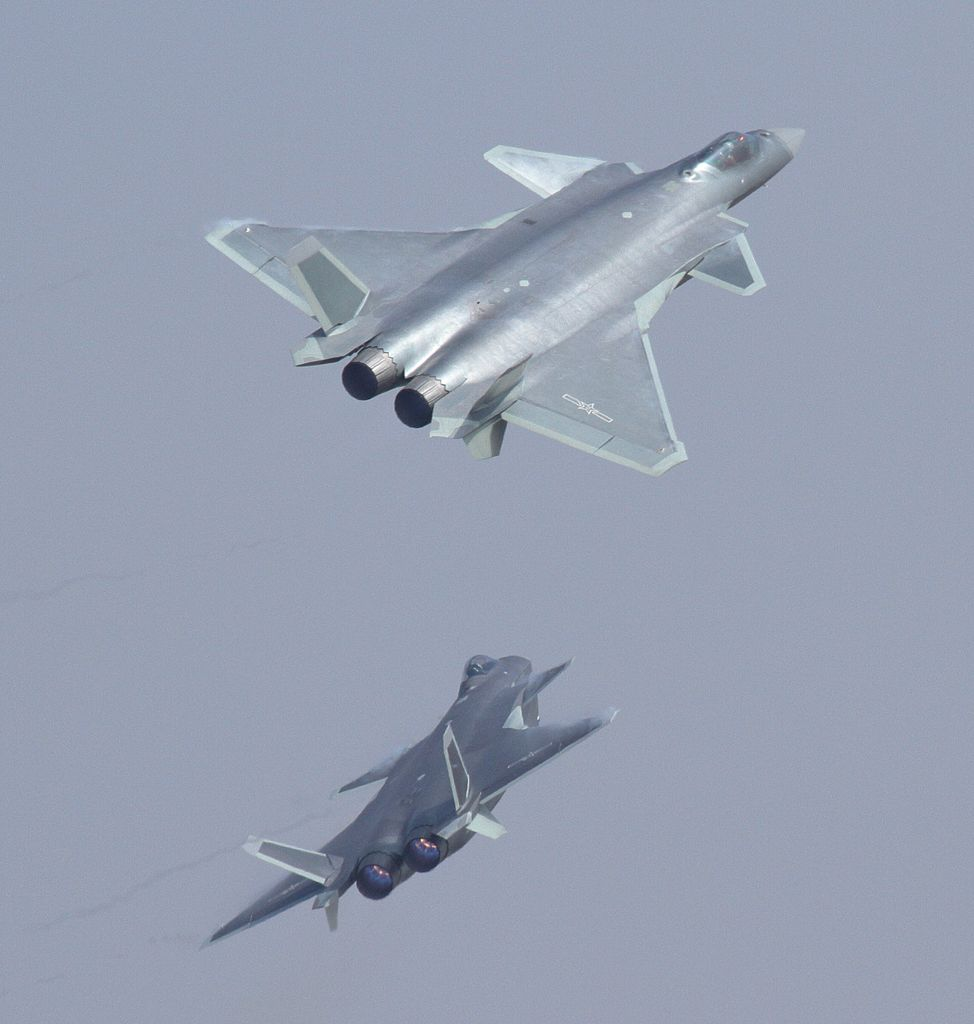 Chengdu J-20 au break