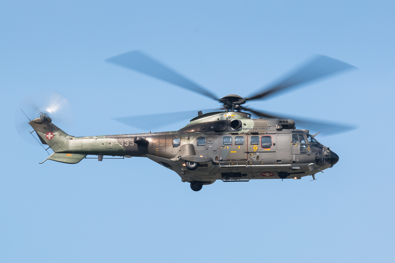 Aérospatiale AS532 UL Cougar suisse