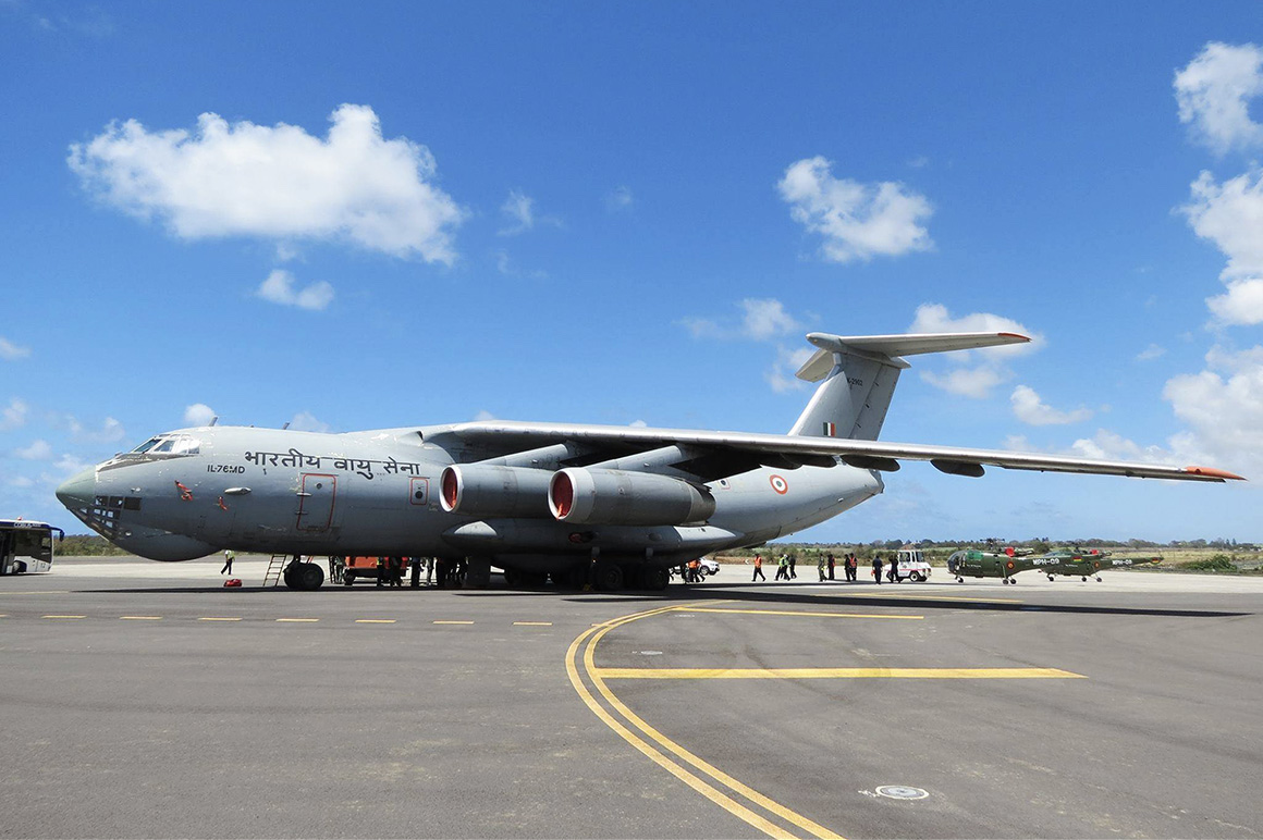Iliouchine Il-76MD indien
