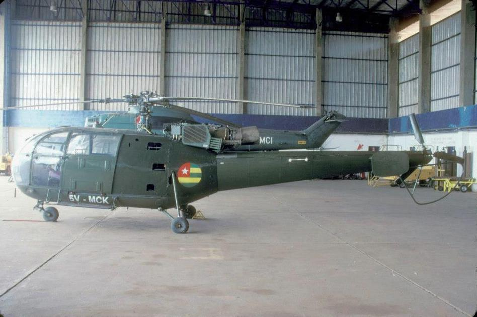 Sud-Aviation SA 316B Alouette III togolaise