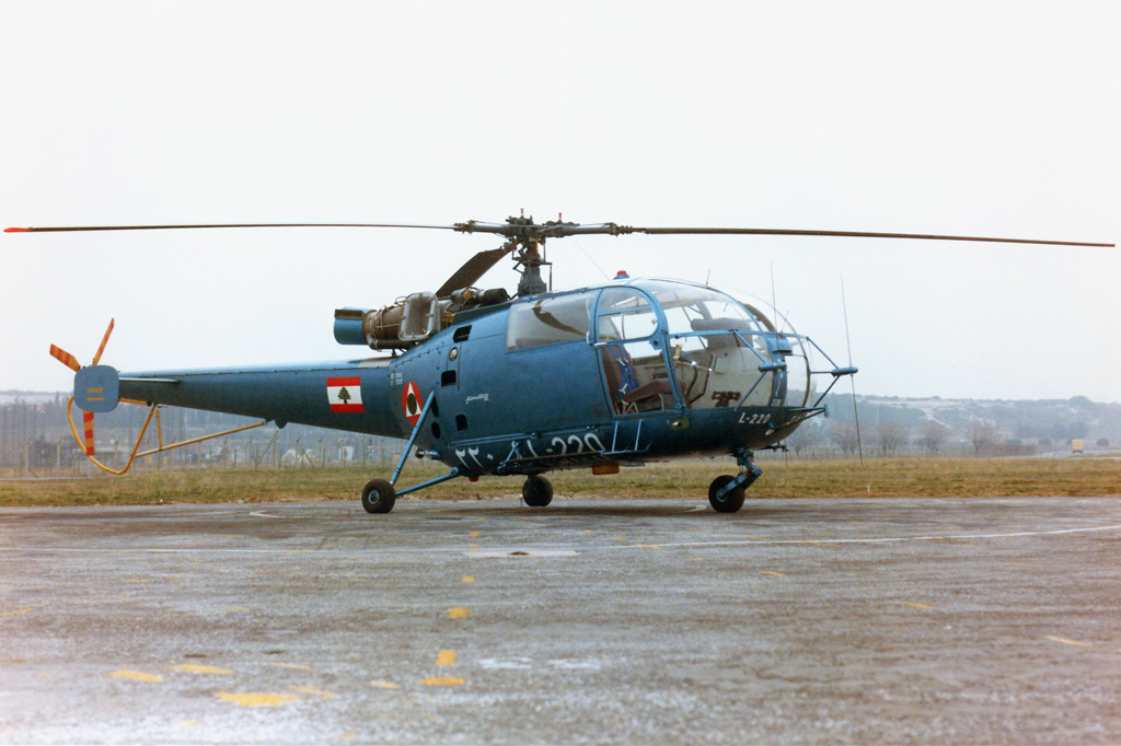 Sud-Aviation SA 316A Alouette III libanaise