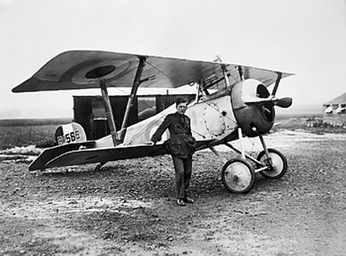 Nieuport 17 et Bishop