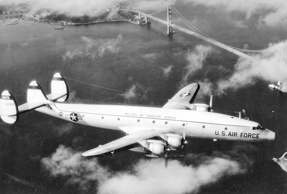 Lockheed C-121G Super Constellation de l'USAF