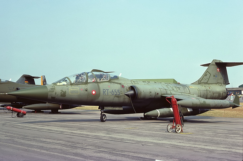 Lockheed CF-104D Starfighter danois
