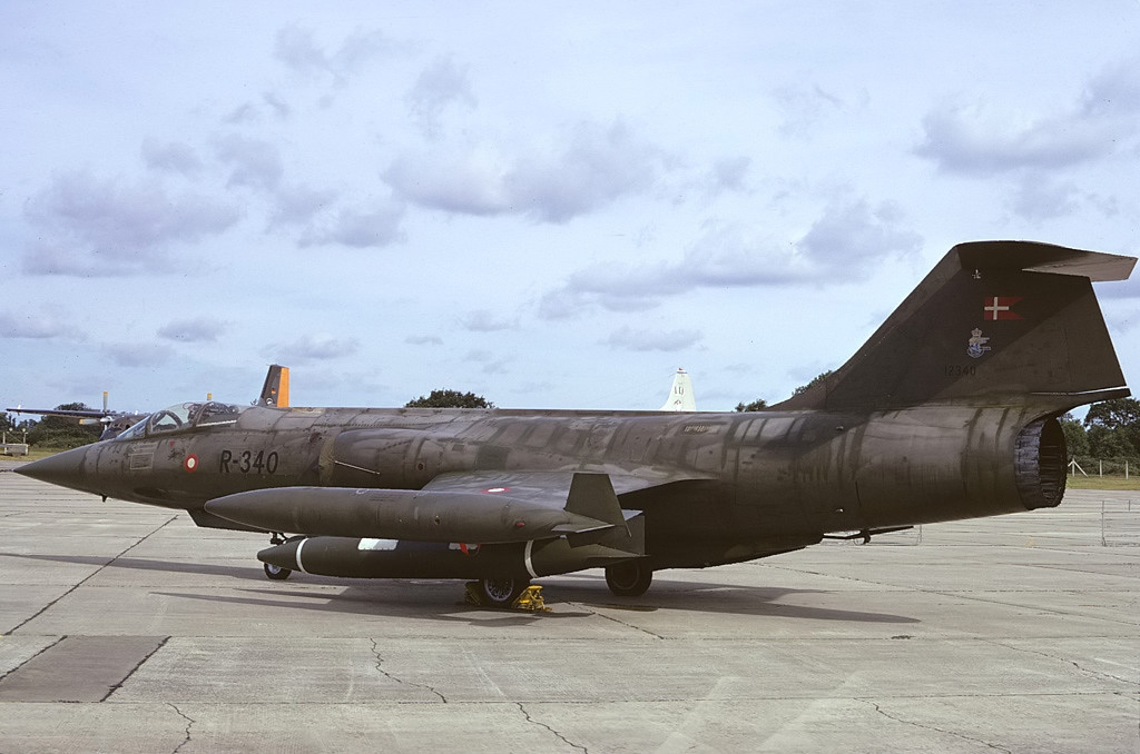 Lockheed CF-104 Starfighter danois