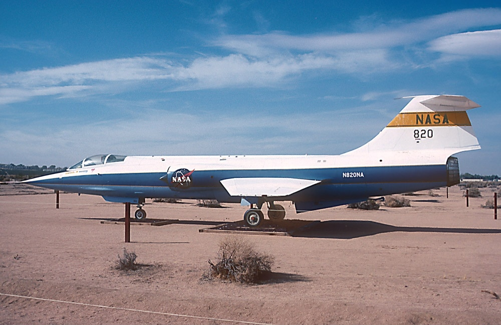 Lockheed F-104A Starfighter de la NASA