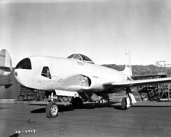 Lockheed RF-80A Shooting Star de l'USAF