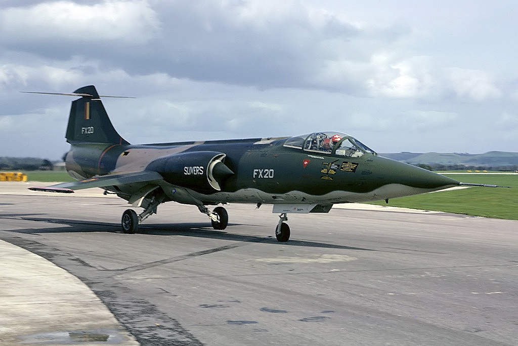 Lockheed F-104G Starfighter belge