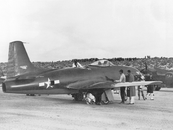 "Lockheed P-80 Shooting Star - Prototype XP-80A ""Lulu Belle"""