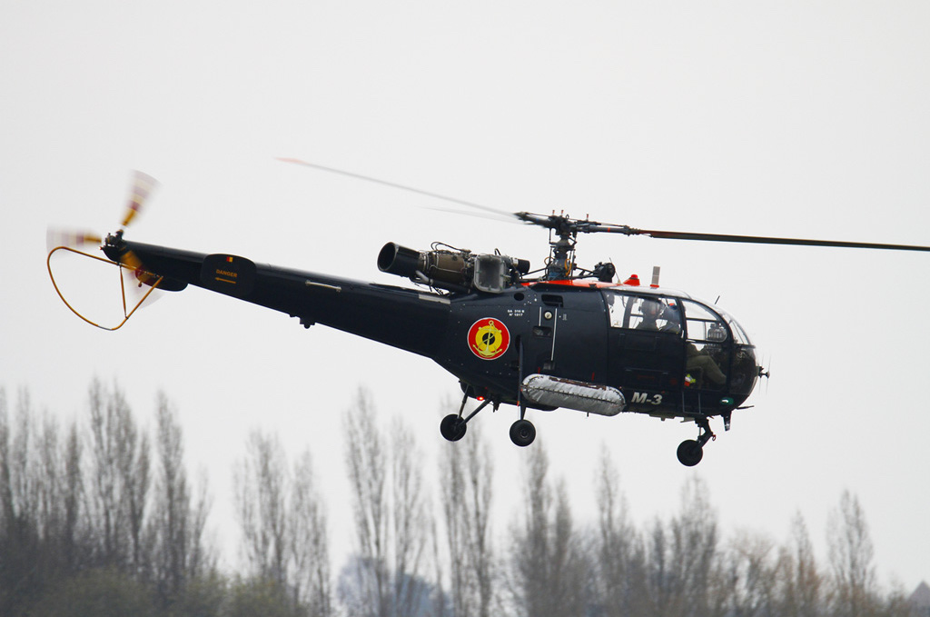 Sud-Aviation SA 316B Alouette III belge