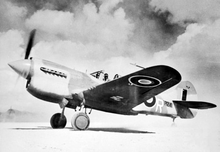 Curtiss P-40 Warhawk australien