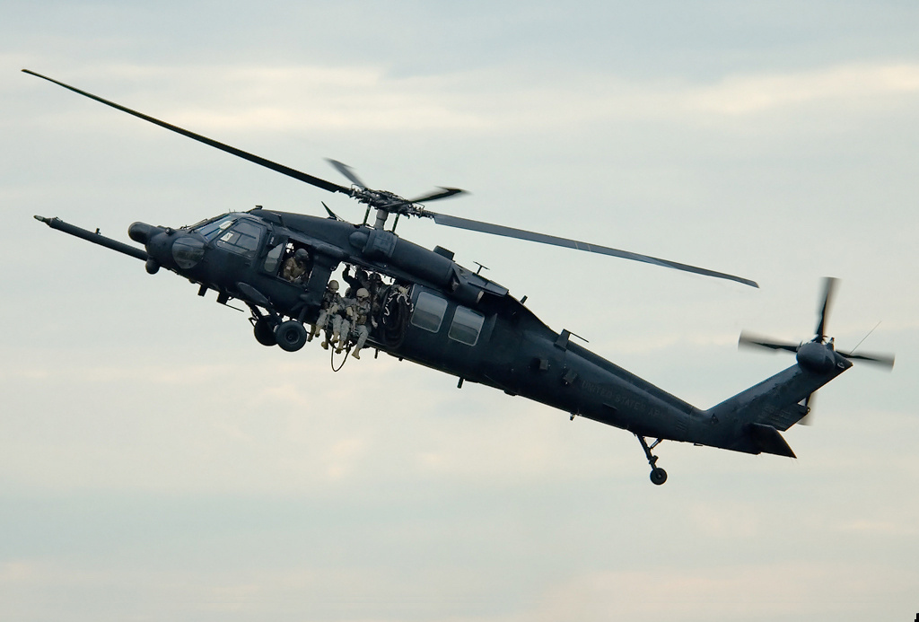 "Sikorsky MH-60K du 160th SOAR ""Night Stalkers"" de l'US Army"