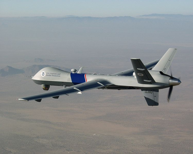 General Atomics MQ-9A Reaper de l'US Customs & Border Protection