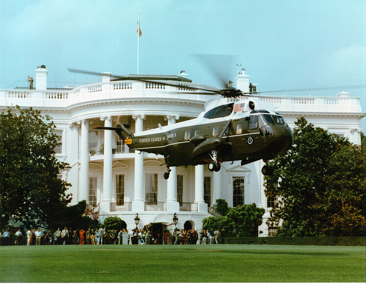 "Sikorsky VH-3D Sea King ""Marine One"""
