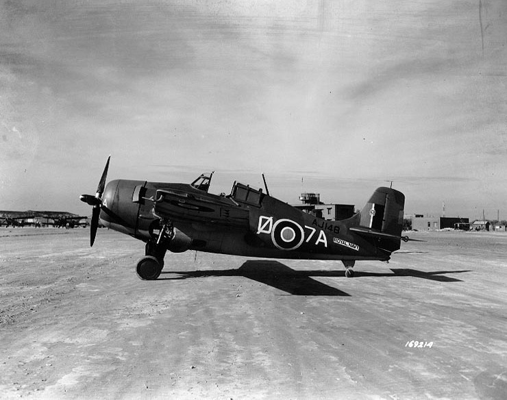 Grumman F4F Wildcat (Martlet II) de la Royal Navy