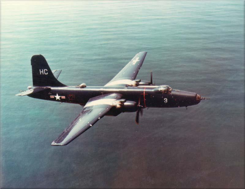 Martin P4M-1 Mercator de l'US Navy en vol