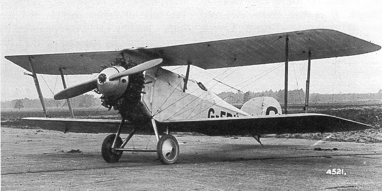 Martinsyde F.4 Buzzard (ADC.1), prototype