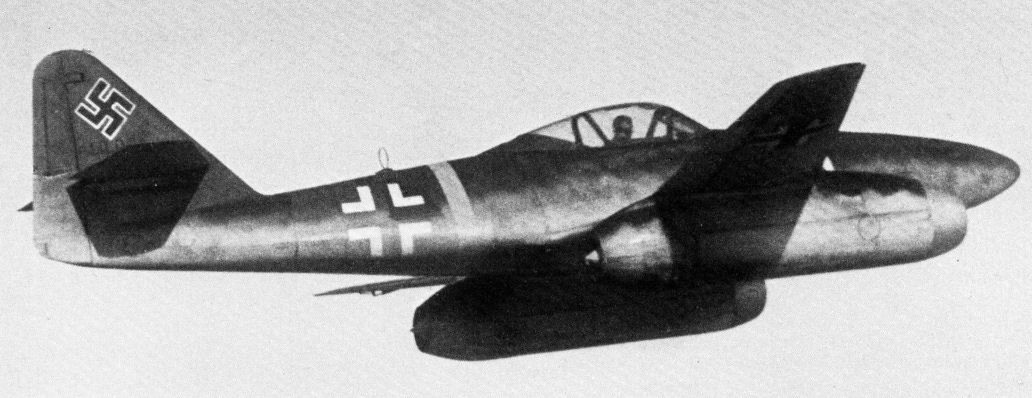 Messerschmitt Me 262A-1a en vol