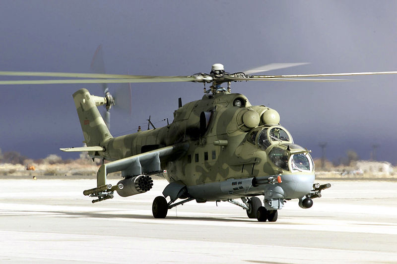 Mil Mi-24P de l'US Army Test and Evaluation Center