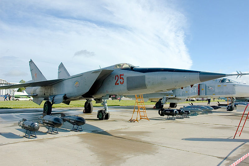 Mikoyan-Gourevitch MiG-25RBSh russe