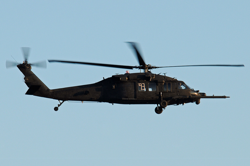 "Sikorsky MH-60L du 160th SOAR ""Night Stalkers"" de l'US Army"