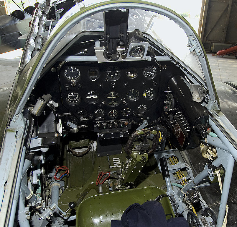 MiG-3 de collection - Cockpit