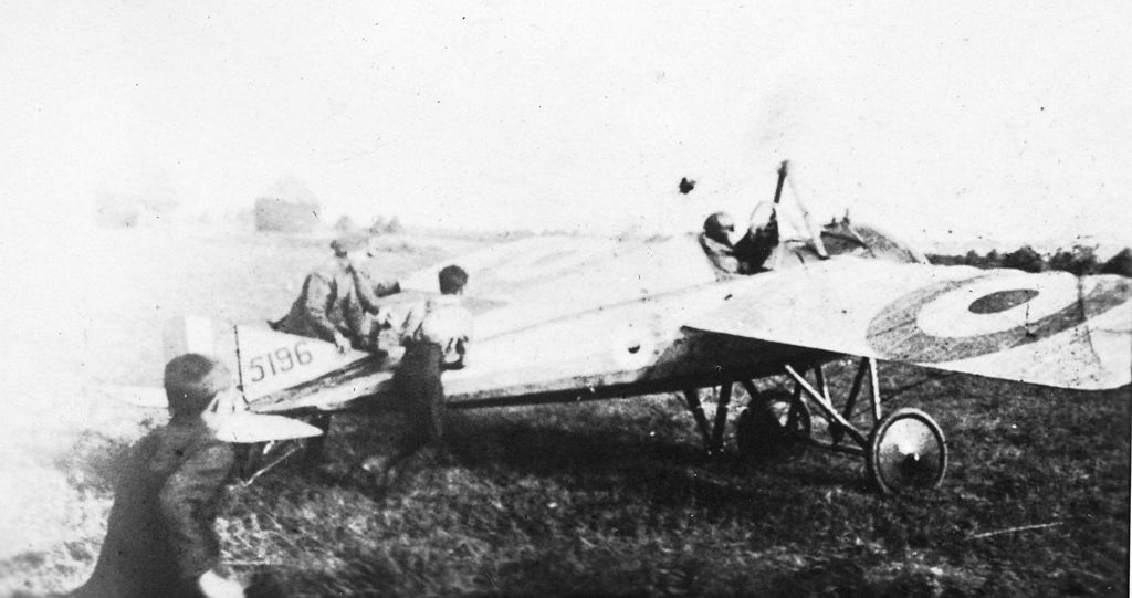Morane-Saulnier Type N du Royal Flying Corps