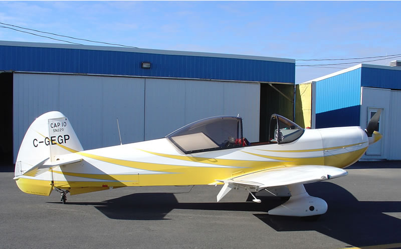 AviationsMilitaires.net — Mudry CAP-10