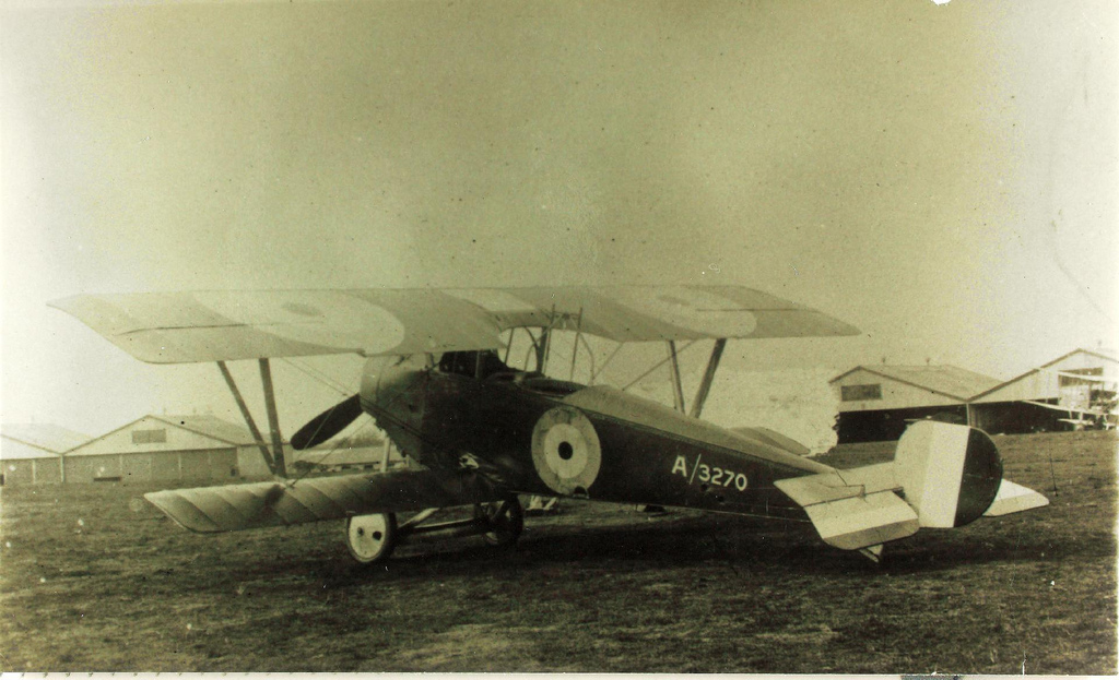 Nieuport XII (Beadmore) du Royal Flying Corps