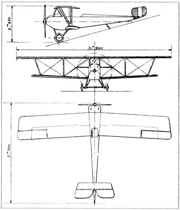Nieuport 14 A2 - Document original