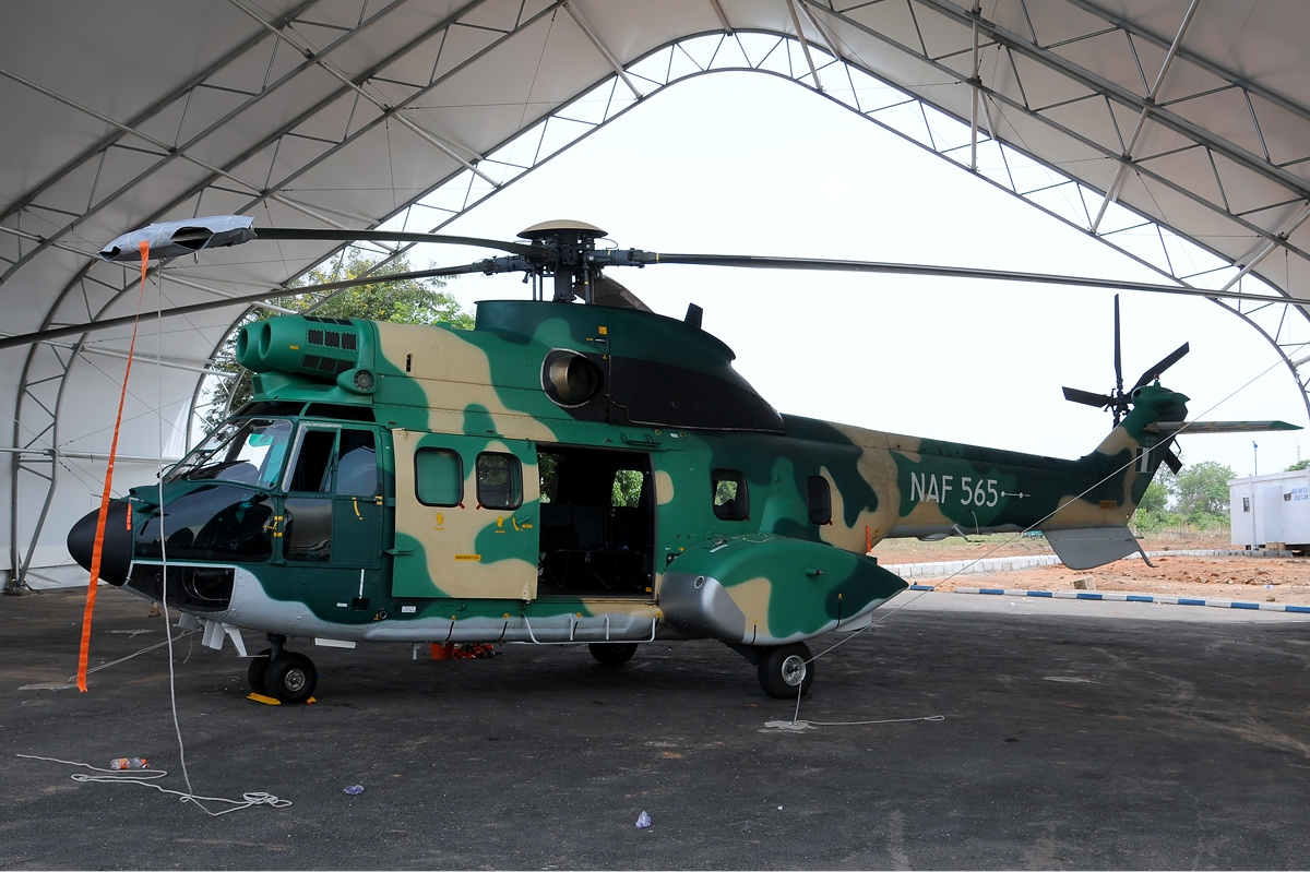 Aérospatiale AS332 M1 Super Puma nigérian