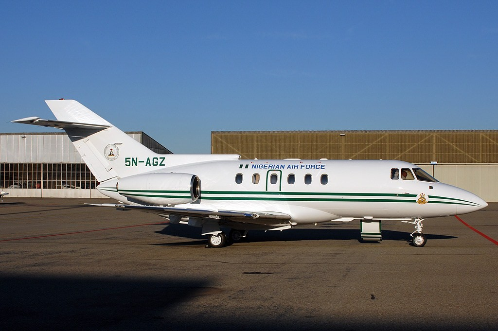 De Havilland DH-125 Jet Dragon (Hawker 800) nigerian