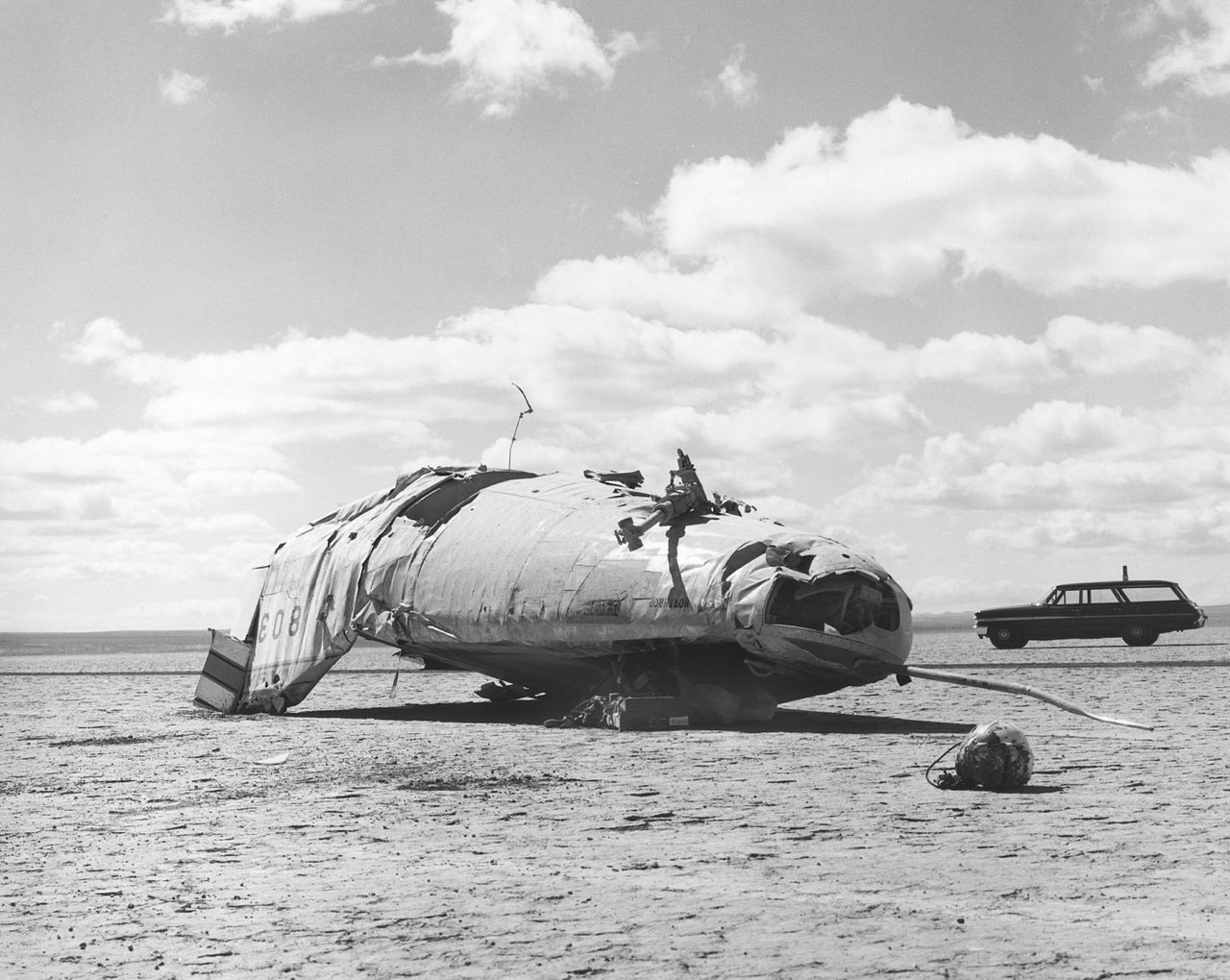 Northrop M2-F2 après son crash