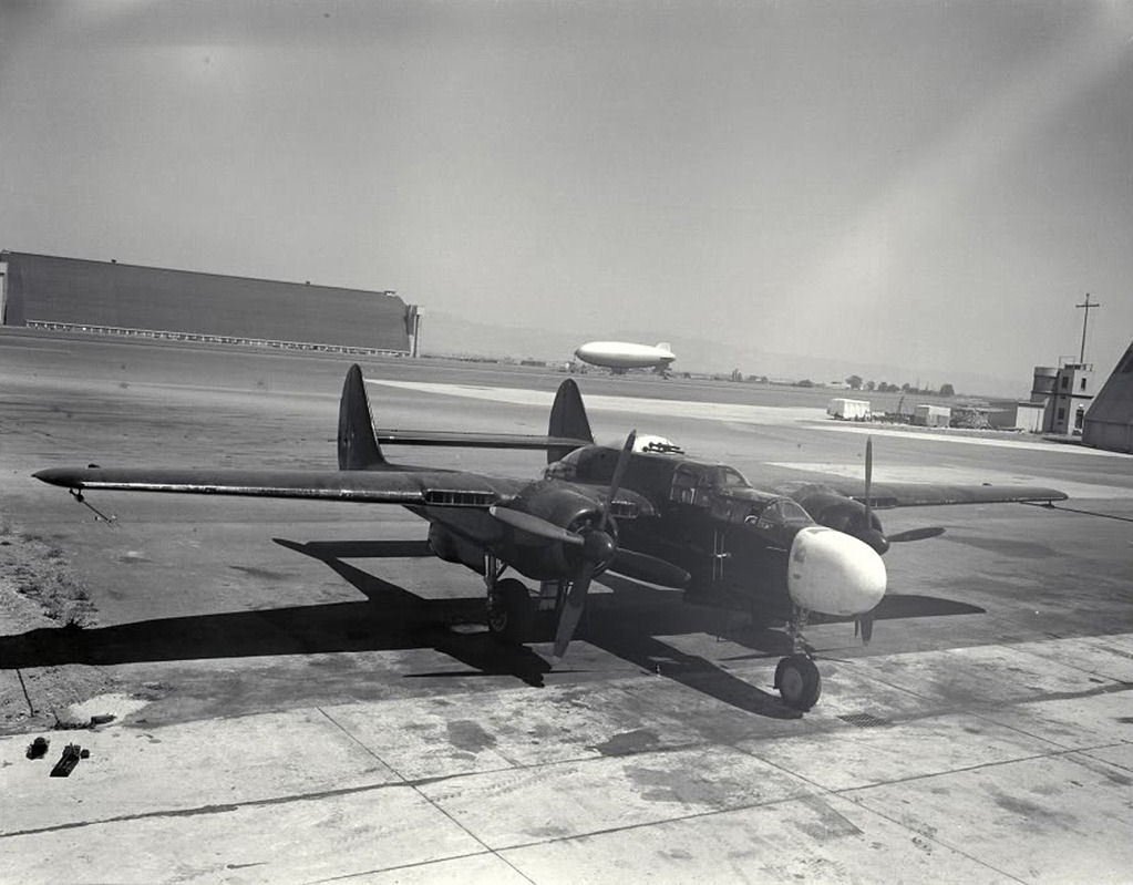 Northrop P-61 Black Widow utilisé par le NACA