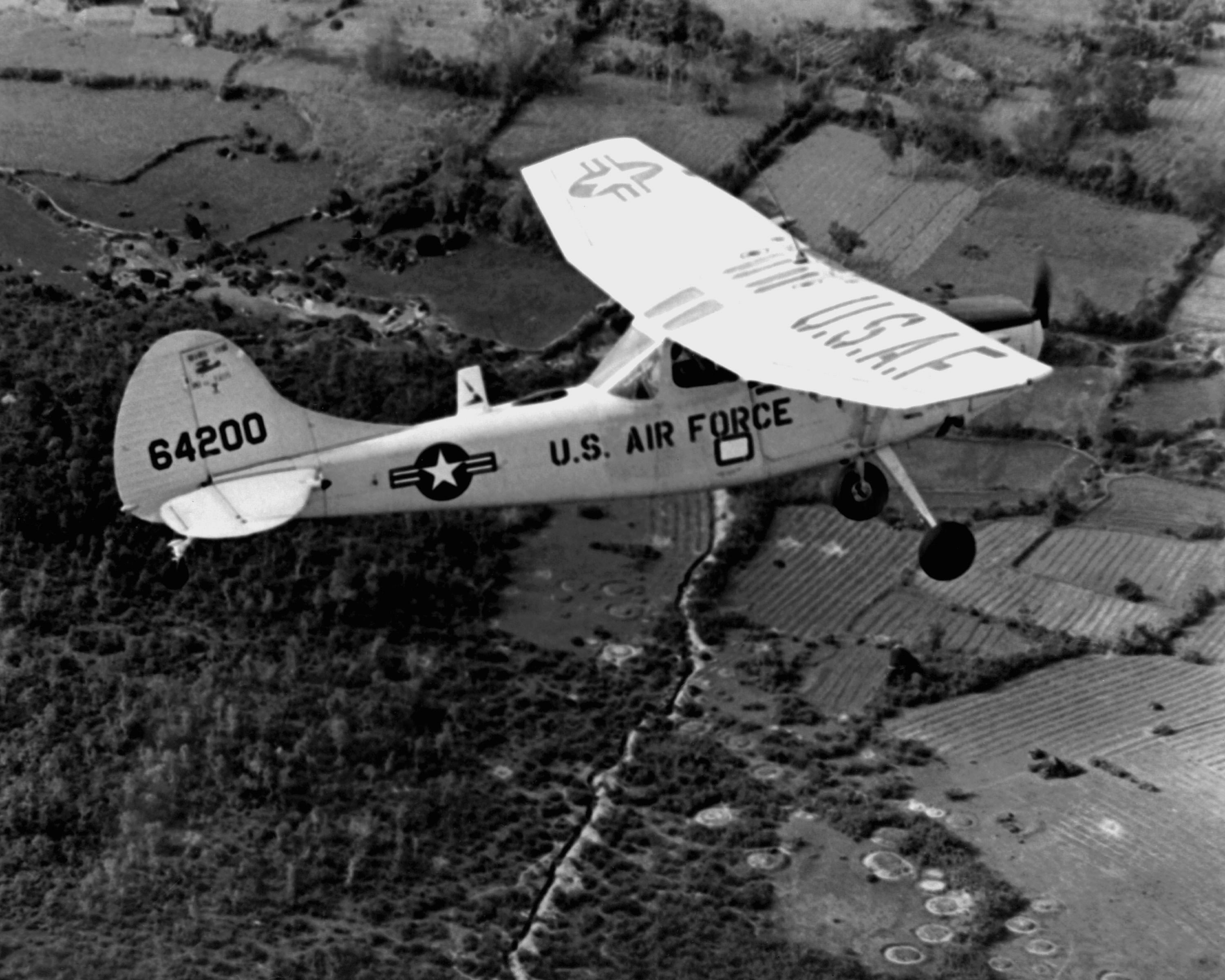Cessna O-1E Bird Dog de l'USAF