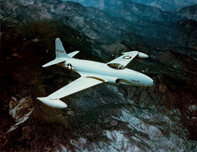 Lockheed P-80A / F-80A Shooting Star de l'USAF