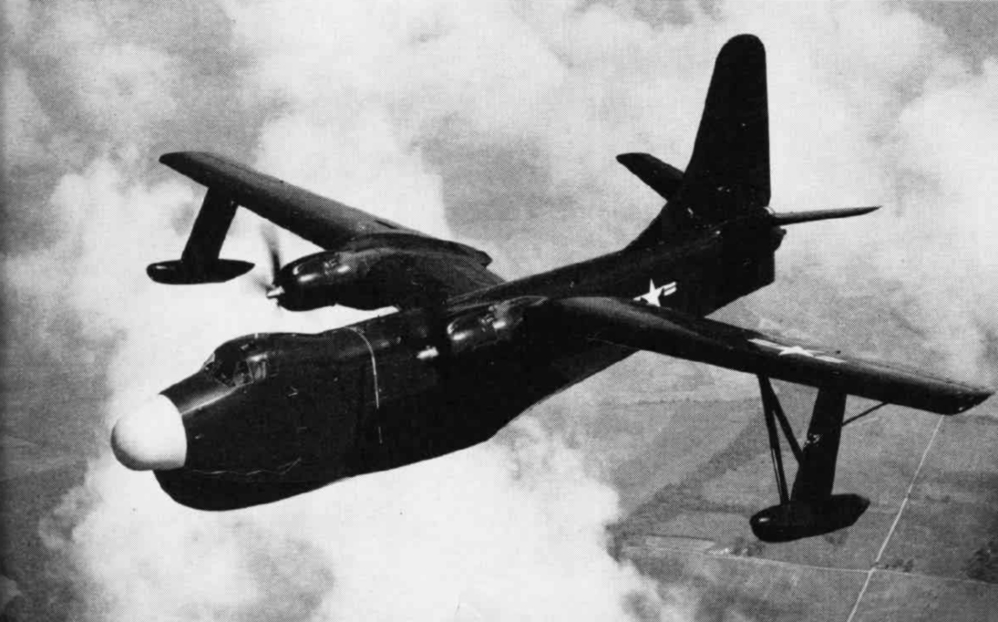 Martin P5M-1 Marlin en vol