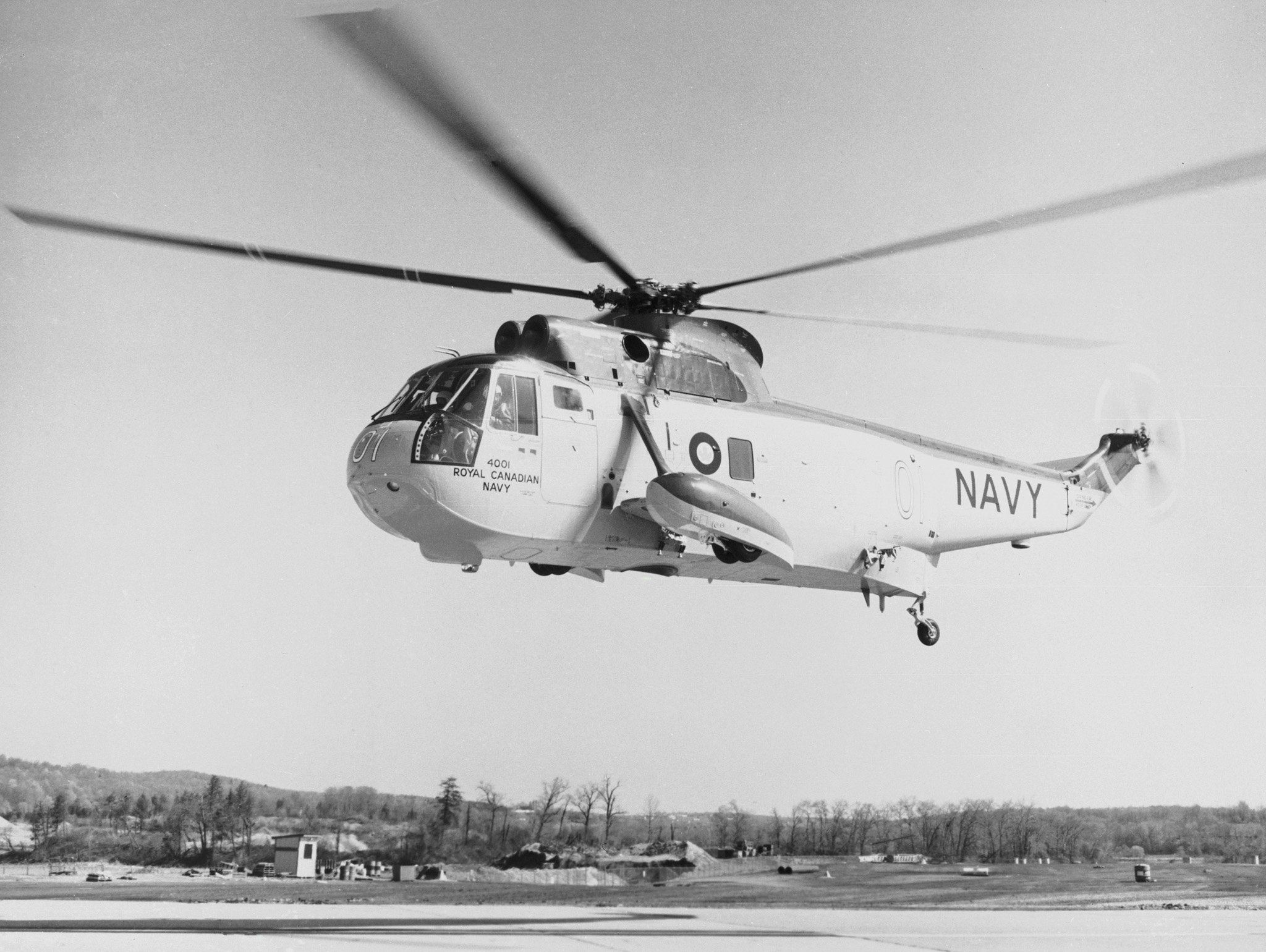 Sikorsky H-3 Sea King (CH-124) de la marine canadienne