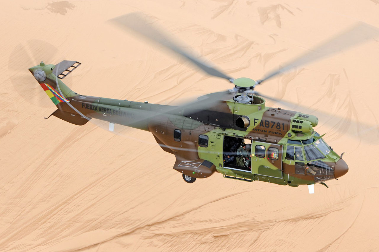 Aérospatiale AS332 C1e / H215 Super Puma bolivien