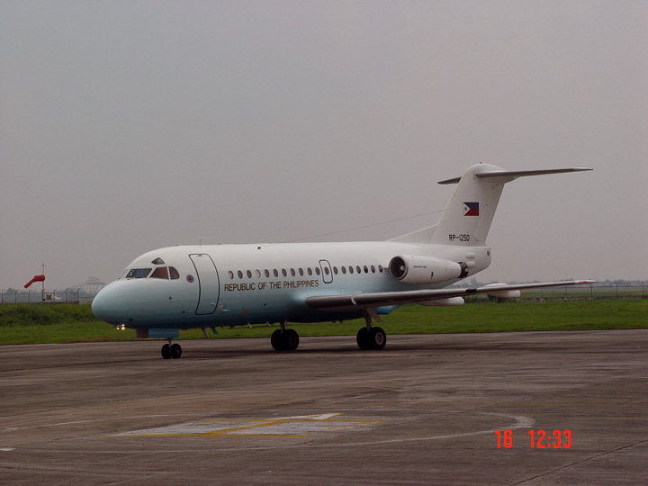 Fokker F28-3000 Fellowship philippin